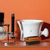 MÜHLE White Porcelain Shaving Mug with Handle