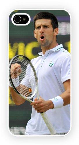 Novak Djokovic Tennis, iPhone 5 5S, Etui de téléphone mobile - encre brillant impression