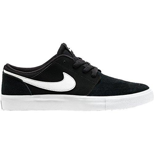 Nike Enfants Sb Portmore Ii (gs) Chaussure De Skate Noir