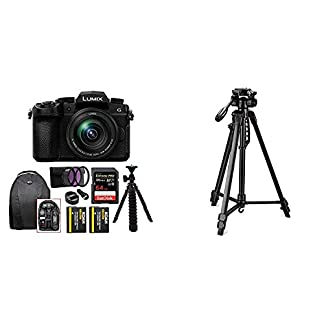 Panasonic Lumix G DC-G95 20.3MP Mirrorless Camera with 12-60mm Lens (4K Photo, Wi-Fi and Bluetooth) + Digitek 550LW… 3
