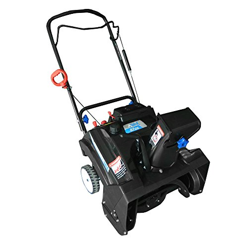 AAVIX AGT1420 Gas Powered Single Stage Snow Thrower, 20-inch, Ideal For Easy And Quick Snow Removal On Sidewalks, Driveways And Decks. (20 Gas Snow Blower compare prices)
