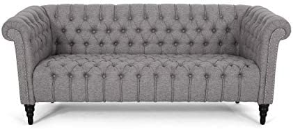 Christopher Knight Home Edgar Traditional Chesterfield Sofa