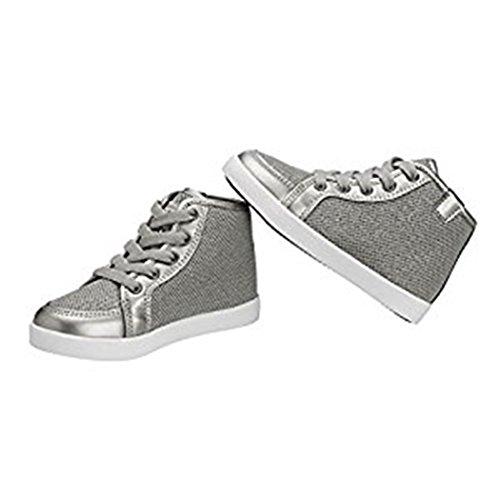 Lupilu Kleinkinder Mädchen Sneakers Silber