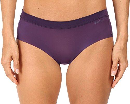 DKNY Intimates Women's Fusion Bikini 570115 Purple Plum Bikini LG