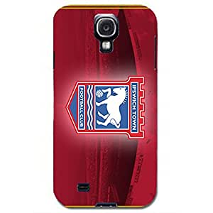 Ipswich Town FC Red Background Logo Charming Case Cover for Samsung Galaxy S4 I9500