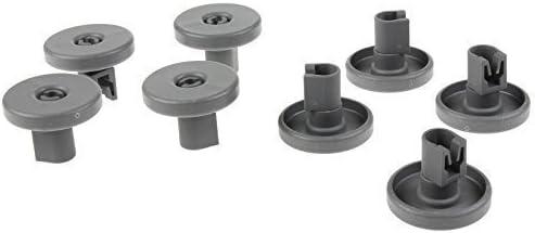 Universal Juego de ruedas para cesta inferior de lavavajillas - 8 ...