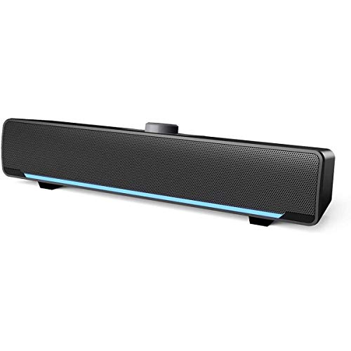 Computer Speakers, Phission USB Powered Sound Bar Speakers for Computer Desktop Laptop PC(Upgrade)
