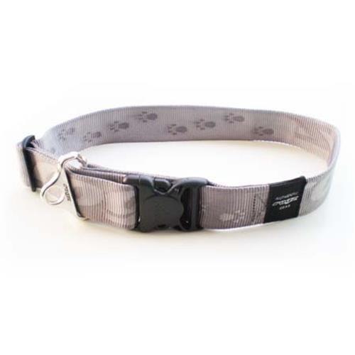 Rogz Alpinist Big Foot Platinum Dog collar - XXL