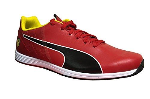 official photos 28977 26144 PUMA Men s Ferrari Evospeed 1.4 Sf Nm Rosso Corsa-Black - Size 13