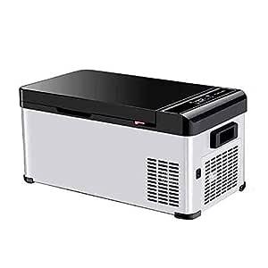 S-AIM Mini refrigerador de 18 litros para automóviles, compresor ...