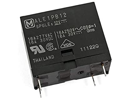 28f9dea66a PANASONIC IND Devices (PIDSA) ALE1PB12 Relays Power-Relays ALE ...