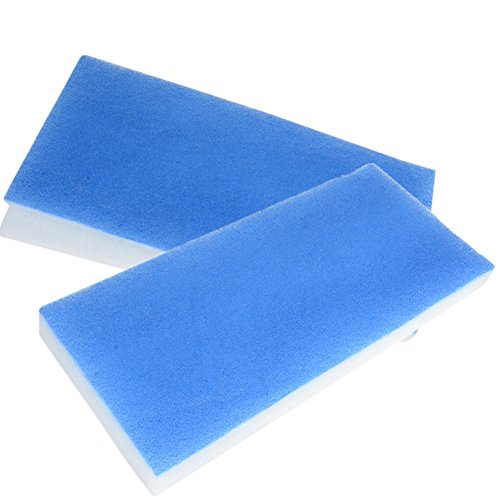 Funnytoday365 Durable Blue White Spray Booth Filter Sponge Mayitr for Exhaust Fan Airbrush Spray Paint Booth Models