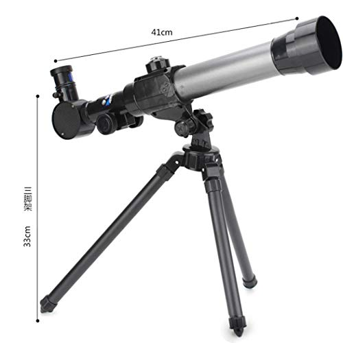 Acecor Children's Science Telescope, Students Astronomy Inspiration Exploring Science Astronomical Telescope Toy 20x/30x/40x Magnifying Glass by Acecor (Image #3)