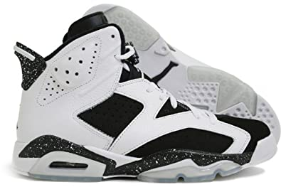 2f21ecea8a0 Amazon.com | Jordan Nike Air 6 Retro OREO VI Mens Basketball Shoes ...