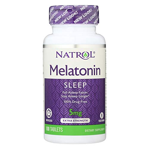 Melatonin 5mg Time Release, 0.32 lb