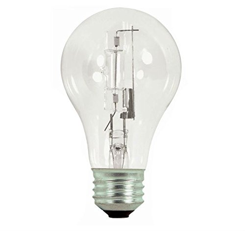 Satco S2401 Halogen Excel Light Bulb, 29 Watts, 120 Volt (Pack Of 12)
