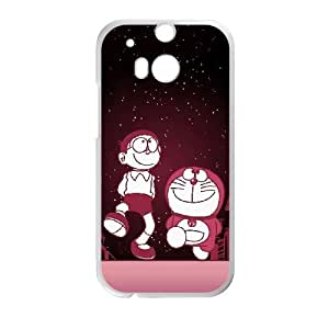 Doraemon HTC One M8 Cell Phone Case White yyfabc_039523