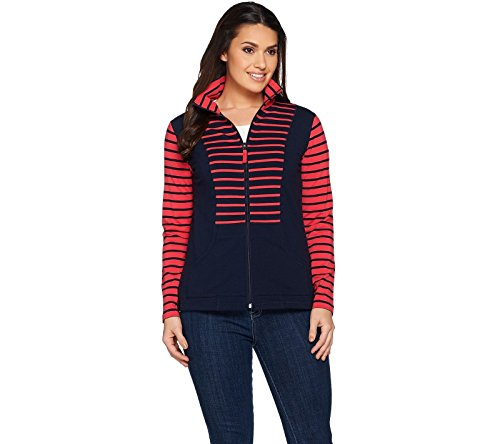 Zip Front French Terry Jacket - 5