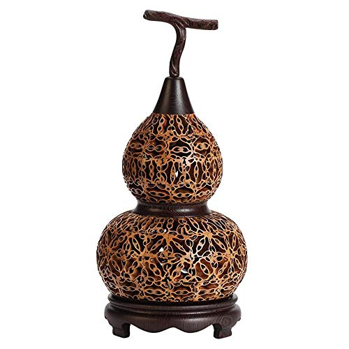 NewIdeas Wood Incense Burner Incenser Holder Wooden Handmade with Home Decor Pagoda Type 27cm (Gourd Type)
