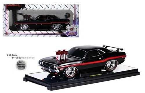 Price comparison product image New 1:18 Limited Edition - BLACK 1970 DODGE CHALLENGER R / T Diecast Model Car By M2 Machines