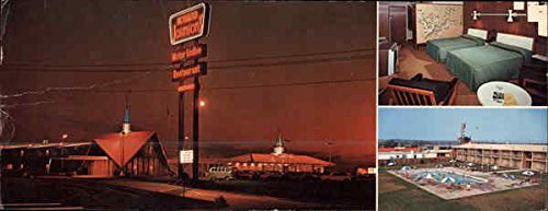 Howard Johnson's Motor Lodge Quad Cities Airport Moline, Illinois Original (Lodge Airport)