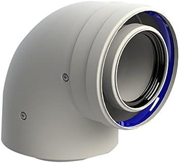 Chimeplast 8125-90MHP15 Conductos y componentes para sistemas de evacuación de humos, Única