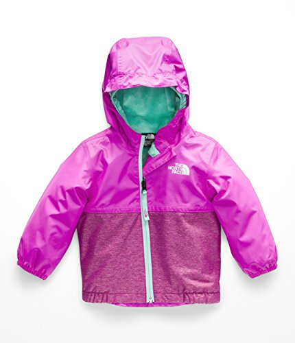 The North Face Infant Warm Storm Jacket - Azalea Pink - 6M (Light Face Jacket Mountain North)