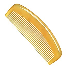 Premium Quality 100% Handmade Anti Static Natural Sheep Horn Comb Without Handle- Professional Detangling Massage Comb…