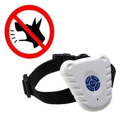 Safe Ultrasonic Dog Pet Stop Barking Anti Bark Training Control Collar ()