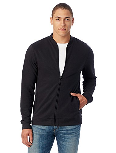 Zip Front French Terry Jacket - 8