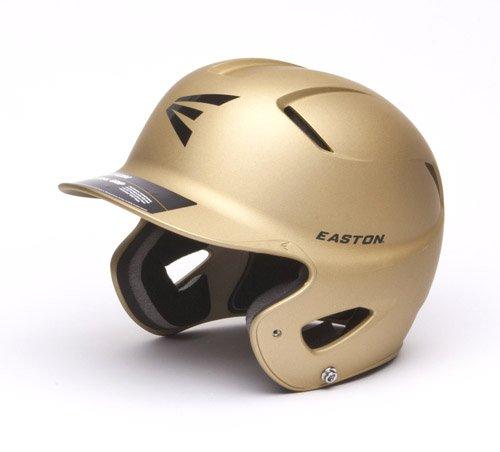 Easton Junior Vegas Natural Grip Batting Helmet, Gold