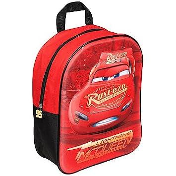 01ea07245ef Disney Cars3 Lighting McQueen 3D Effect Backpack  Amazon.co.uk  Luggage