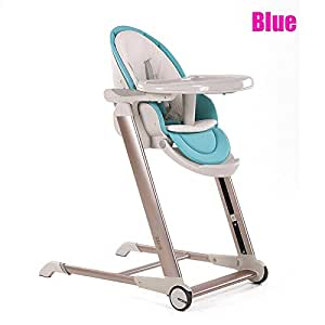 Star Ibaby Noa - Trona de bebes evolutiva plegable, color azul