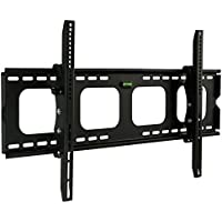 Mount-It! MI-303L Premium Tilting TV Wall Mount Bracket for 40 - 70 inch LCD, LED, or Plasma Flat Screen TV - Super-strength Load Capacity 220 lbs - 15 Degree Tilt Mechanism Up & Down, Max VESA 850x450 with FREE 6 ft HDMI cable