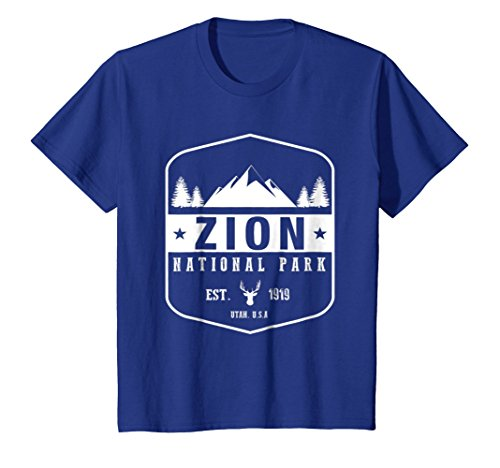 Zion National Park T Shirt Utah Hiking Tee Wanderlust