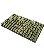 Grodan - Tappetino in lana roccia per germogli, 150 cavità, 2,5 x 2,5 cm