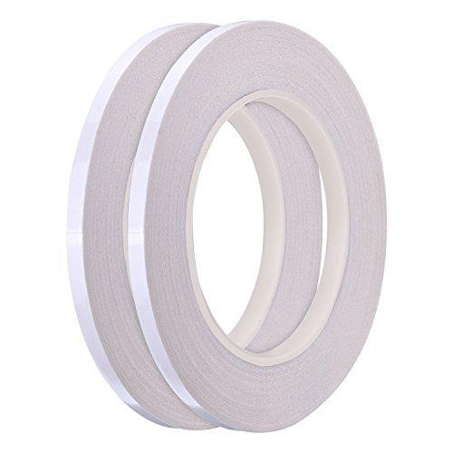 hotop 2Pack 1/10,2cm Quilting coser cinta Wash Away cinta, cada 20,1m