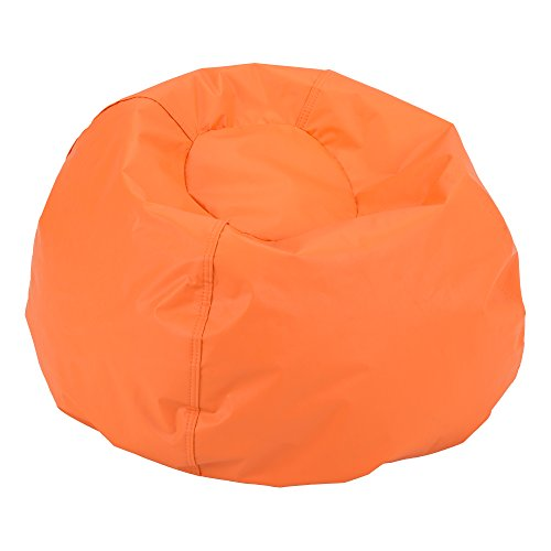 (Sprogs SPG-610-201-SO Round Bean Bag Chair, Orange)
