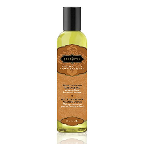 Kama Sutra Massage Oil 8 oz - Sweet Almond by Kama Sutra