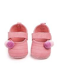 cd47ed53d5c7f Nagodu Zapatos Casual para Bebe niña Rosas con Bolitas Rosas