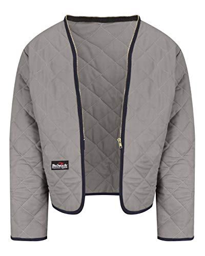 Bulwark FR Men's LML2 Flame Resistant Zip-in Zip-Out Modaquilt Liner (X-Large)