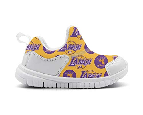 Baby's MVP 23 King LaBron Cute Lightweight Mesh Athletic Running Shoes