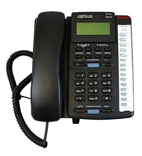 (Cortelco 222000-Tp2-27e Colleague 2-Line Telephone En Bk electronic consumers)