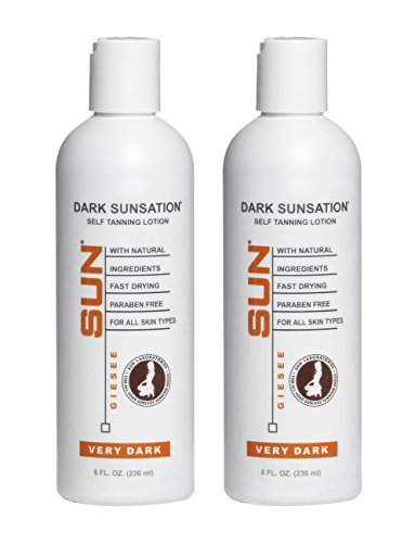 Dark Sunsation Self Tanning Lotion, 8 oz  - Self Tanner - Na