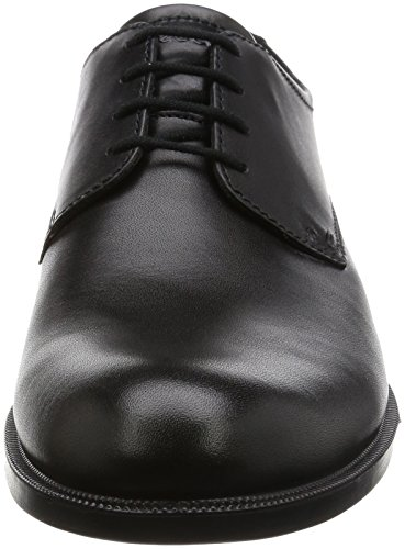 Harold Nero Derby Uomo Black Stringate Scarpe ECCO 48zq18
