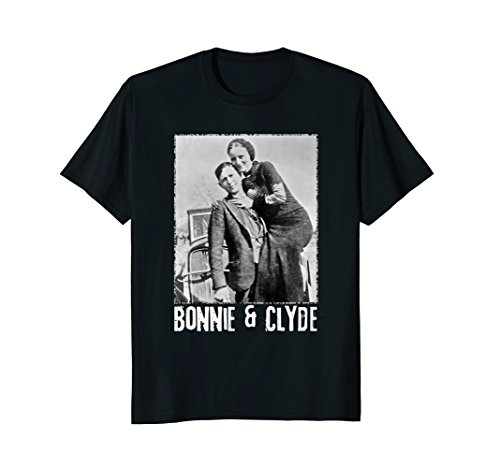 Mens Bonnie & Clyde Matching Couple Shirts and