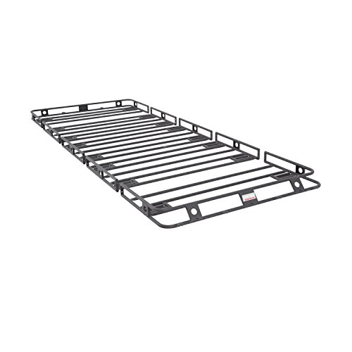 Smittybilt 50125HD Defender Roof Rack 5 ft. x 12 ft. x 4 in. Bolt Together Incl. HD Clamps/Brackets Defender Roof Rack