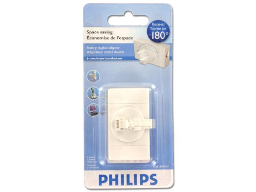 Philips Rotary Space Saving Duplex Adapter