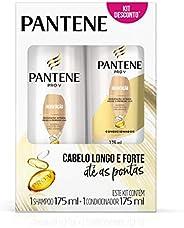 Kit Pantene Hidratação Shampoo 175ml + Condicionador Pantene 175ml