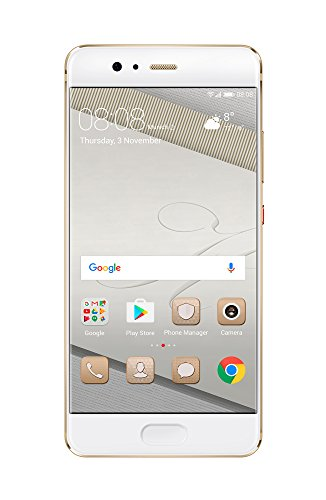 "Huawei P10 VTR-L29 64GB Prestige Gold, 5.1"", Dual Sim, GSM Unlocked International Model, No Warranty"